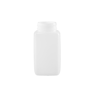 125 cc Natural HDPE Plastic Oblong Bottle, 38-400
