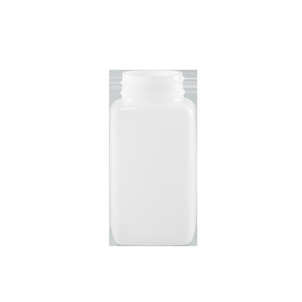 125 cc Natural HDPE Plastic Oblong Bottle, 38-400