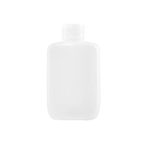 1.25 oz Natural HDPE Plastic Oval Bottle, 24-410