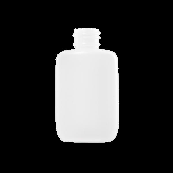 1.25 oz Natural HDPE Plastic Oval Bottle, 24-410