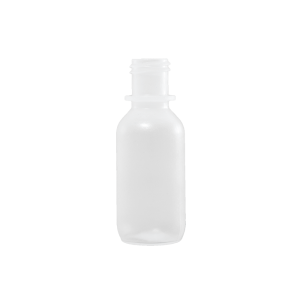 0.5 oz Natural LDPE Plastic Boston Round Bottle, 15-415