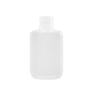 0.5 oz Natural HDPE Plastic Oval Bottle, 15-415