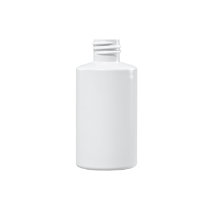 18ml White BAREX Plastic Cylinder Bottle, 13-415