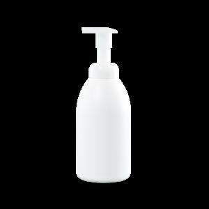 550ml White HDPE Plastic Palm Foamer