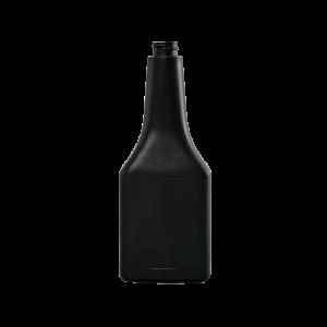 12 oz. Black HDPE Plastic Octane Oblong Automotive Bottle, 22-400