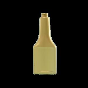 8 oz. Gold PVC Plastic Octane Oblong Automotive Bottle, 22-400