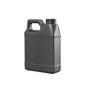 16 oz. Grey Plastic F-Style Automotive Bottle, 33-400