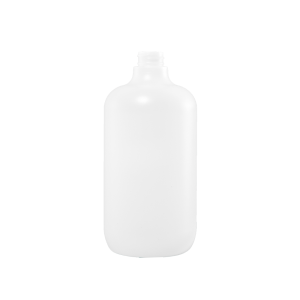 32 oz Natural Plastic Boston Round Bottle, 28-400