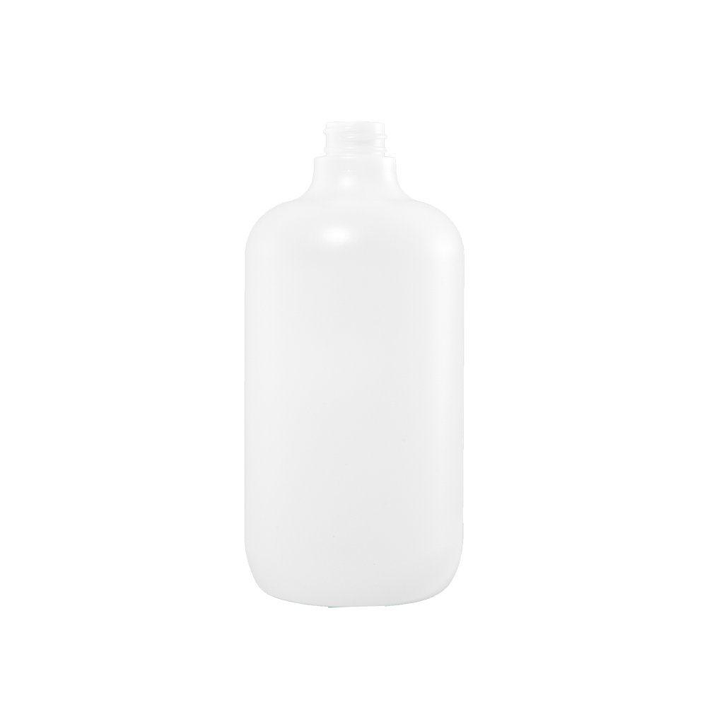 32 oz Natural Plastic Boston Round Bottle, 28-400 - Illing