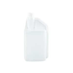 32 oz Natural HDPE Plastic Bettix Single Neck Bottle