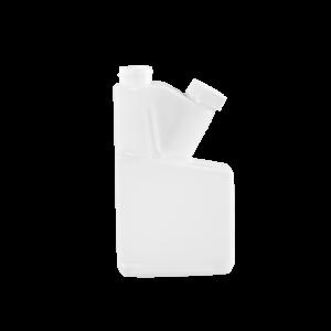 8 oz Natural HDPE Plastic Bettix Twin Neck Bottle