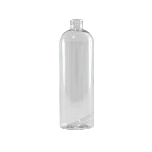 16 oz Clear PET Plastic Bullet Bottle, 24-410