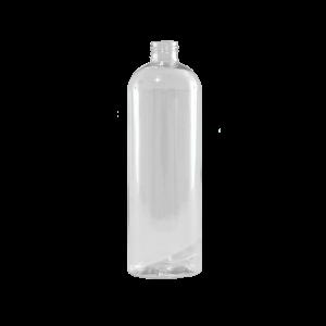 16 oz Clear PET Plastic Bullet Bottle, 24-410