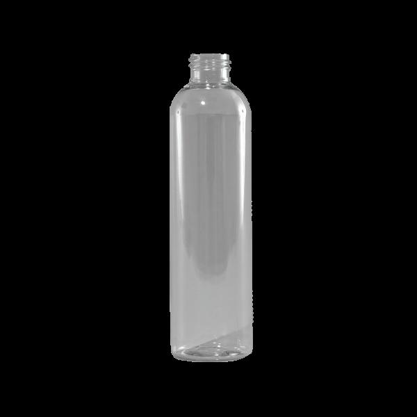 12 oz Clear PET Plastic Bullet Bottle, 24-410