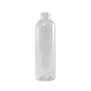8 oz Clear PET Plastic Bullet Bottle, 24-410