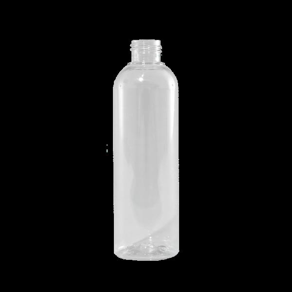 8 oz Clear PET Plastic Bullet Bottle, 24-410