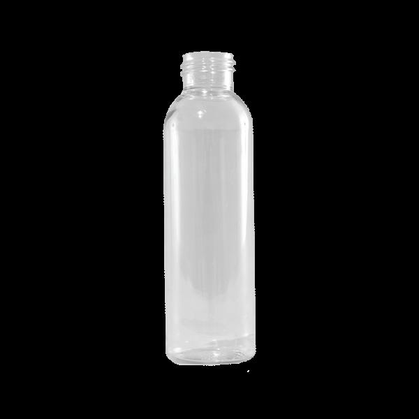 6 oz Clear PET Plastic Bullet Bottle, 24-410