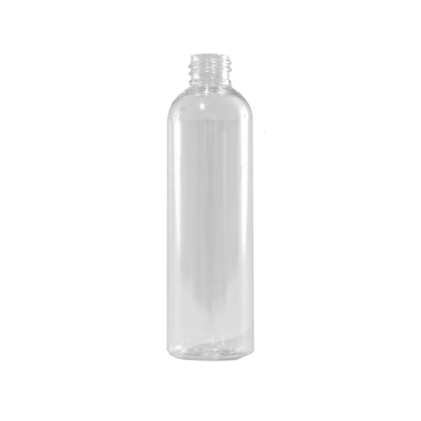 4 oz Clear PET Plastic Bullet Bottle, 24-410