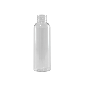2 oz Clear PET Plastic Bullet Bottle, 20-410