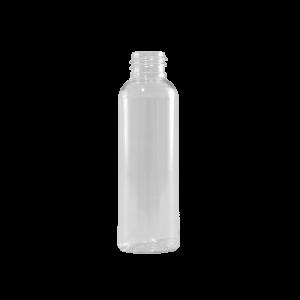 2 oz Clear PET Plastic Bullet Bottle, 20-410