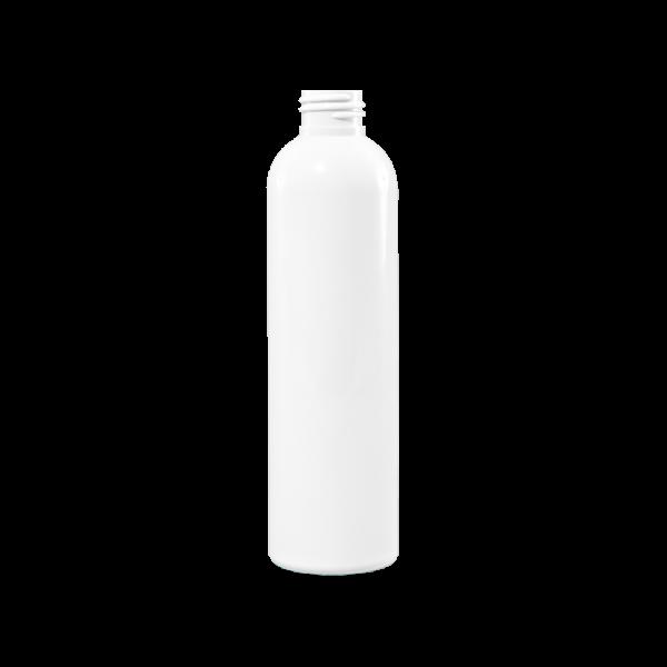 4 oz White HDPE Plastic Bullet Bottle, 24-41