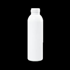 4 oz White PET Plastic Bullet Bottle, 24-410