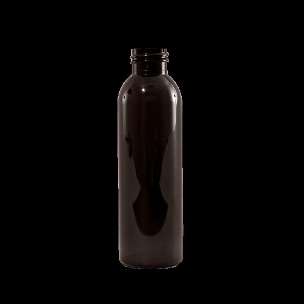 4 oz Amber PET Plastic Bullet Bottle, 24-410