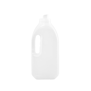 1 Liter Natural HDPE Laundry Drainback Bottle, 51mm