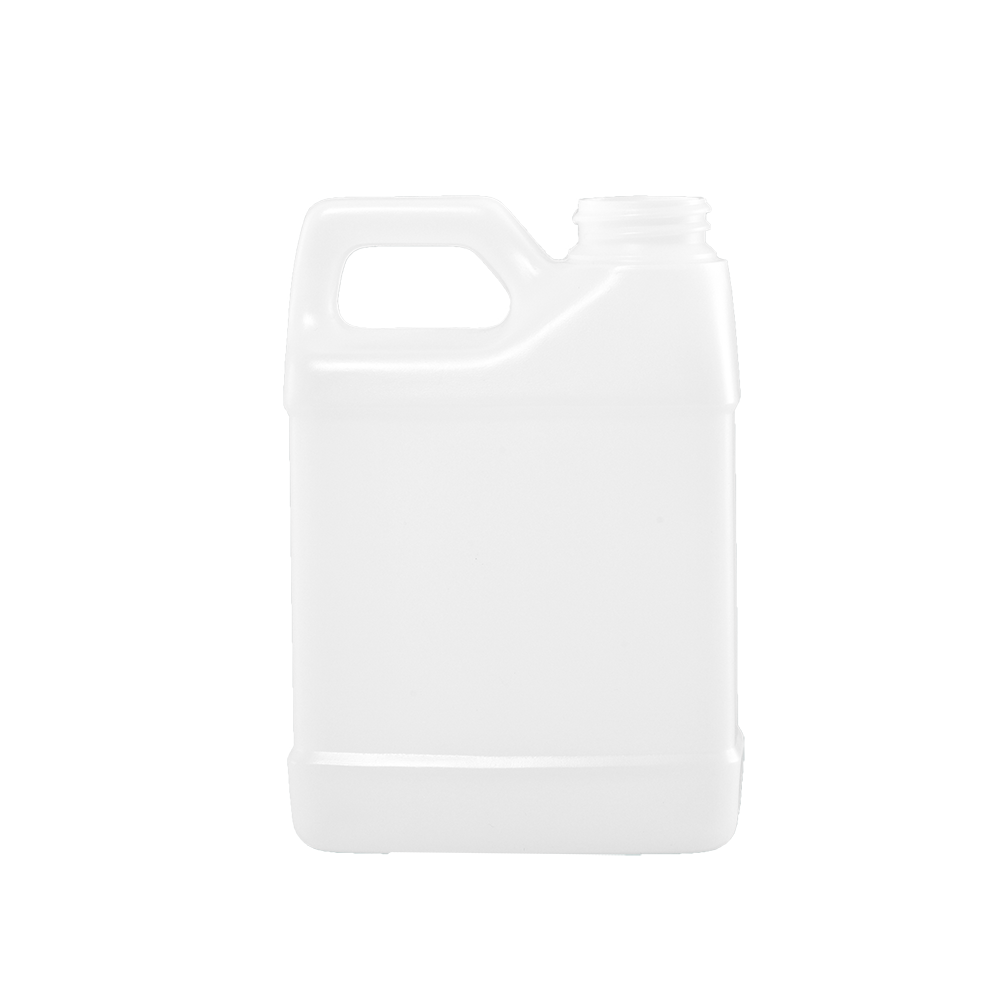 12 oz Natural HDPE F-Style Container, 33-400