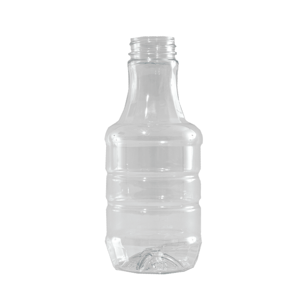 16 oz Clear PET BBQ Decanter Container, 38-400