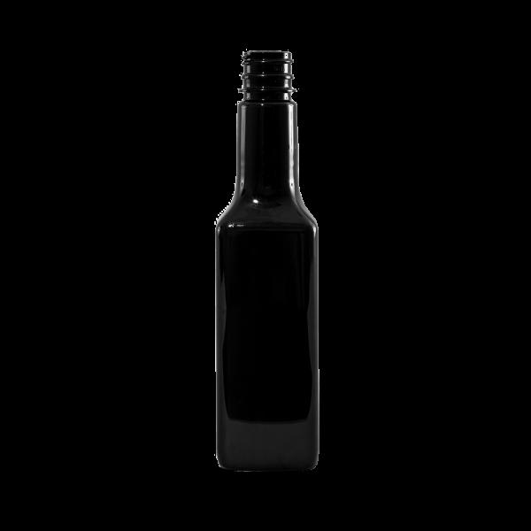 16 oz Amber PET Steak Sauce Bottle, 28-410 - Illing Company