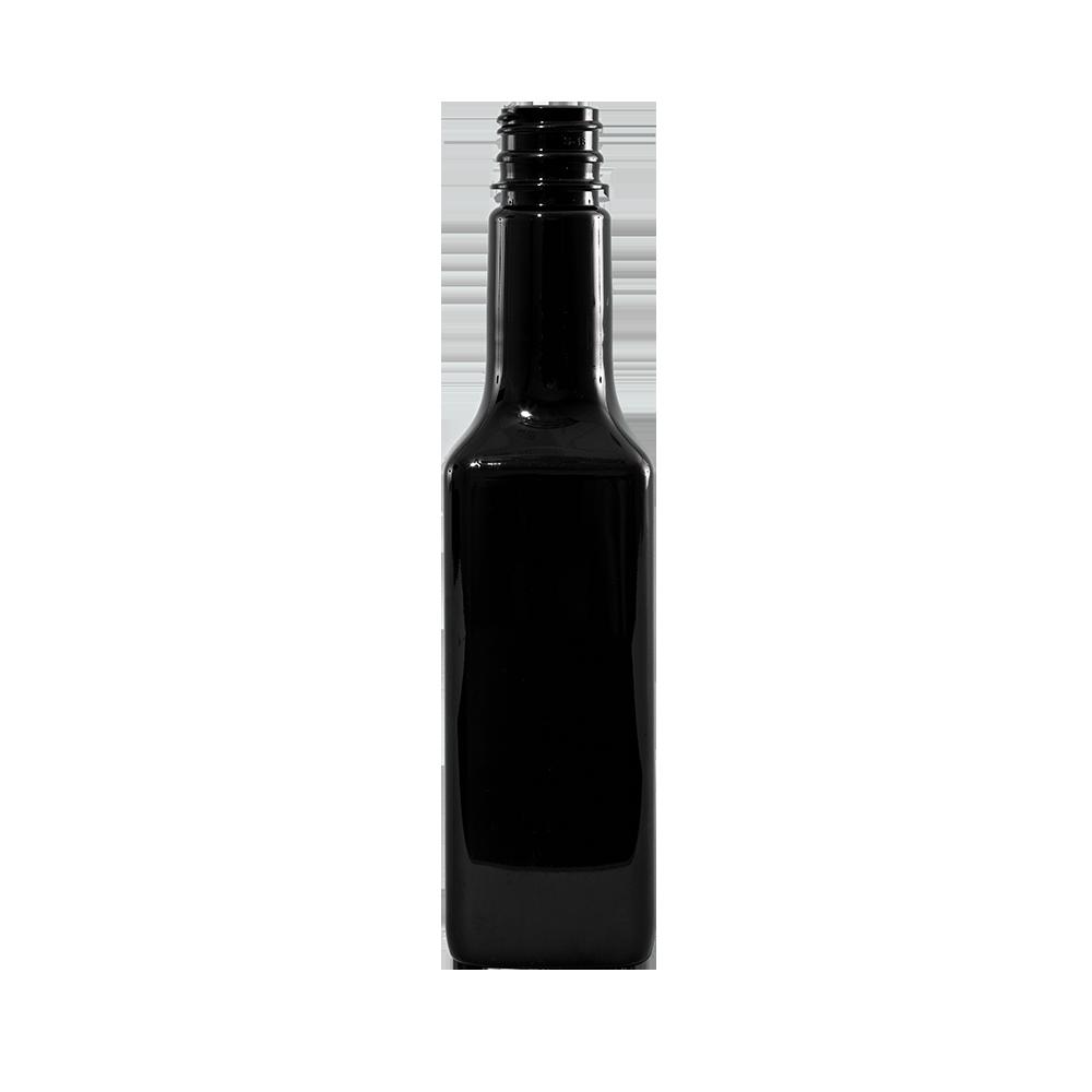 16 oz Amber PET Steak Sauce Bottle, 28-410