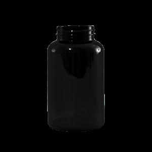 500 cc Amber PET Plastic Packer Bottle, 53-400
