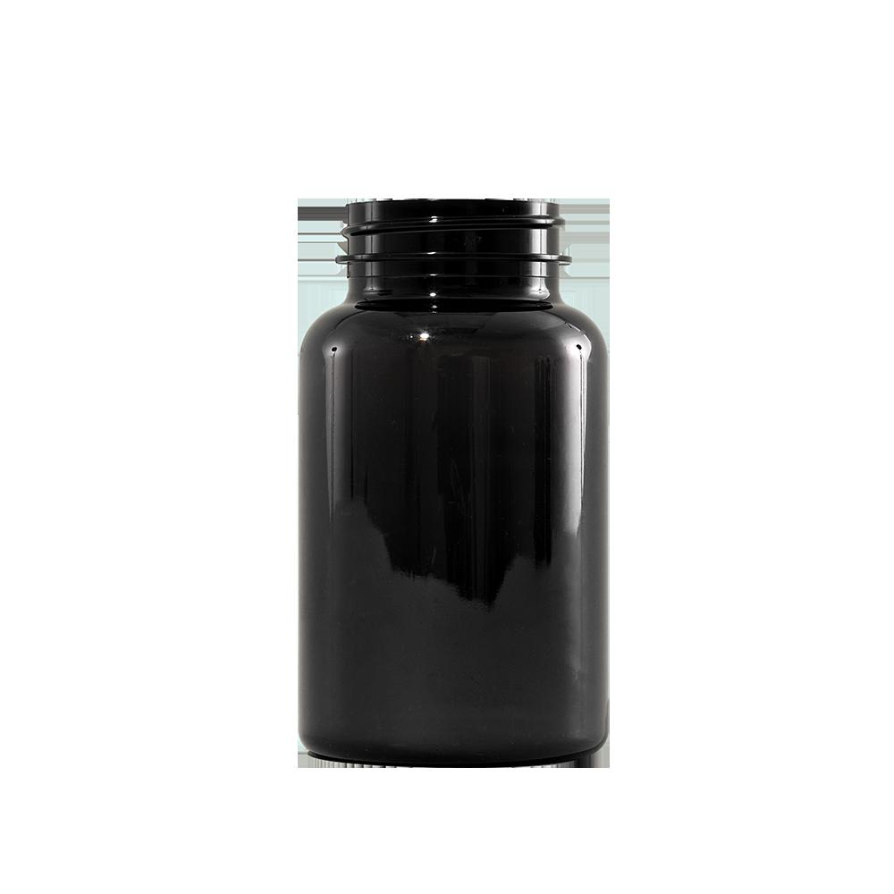 225 cc Amber PET Plastic Packer Bottle, 45-400