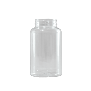 400 cc Clear PET Plastic Packer Bottle, 53-400