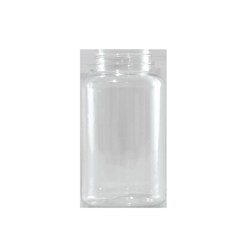 400 cc Clear PET Plastic Packer Bottle, 53-400
