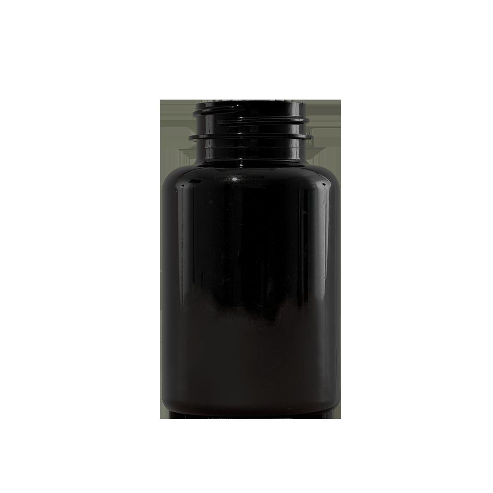 175 cc Amber PET Plastic Packer Bottle, 38-400