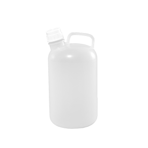 1 Gallon Natural HDPE Plastic Handleware Container, 38mm