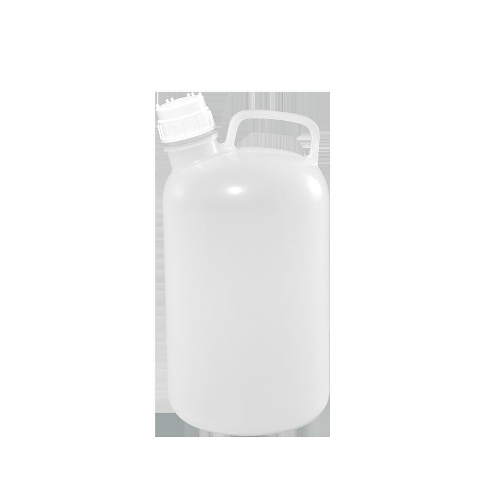 2 Gallon Natural Nalgene Plastic Handleware Container, 53mm