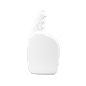 32 oz. White HDPE Plastic Pistol Grip Trigger Sprayer Bottle, 28-400