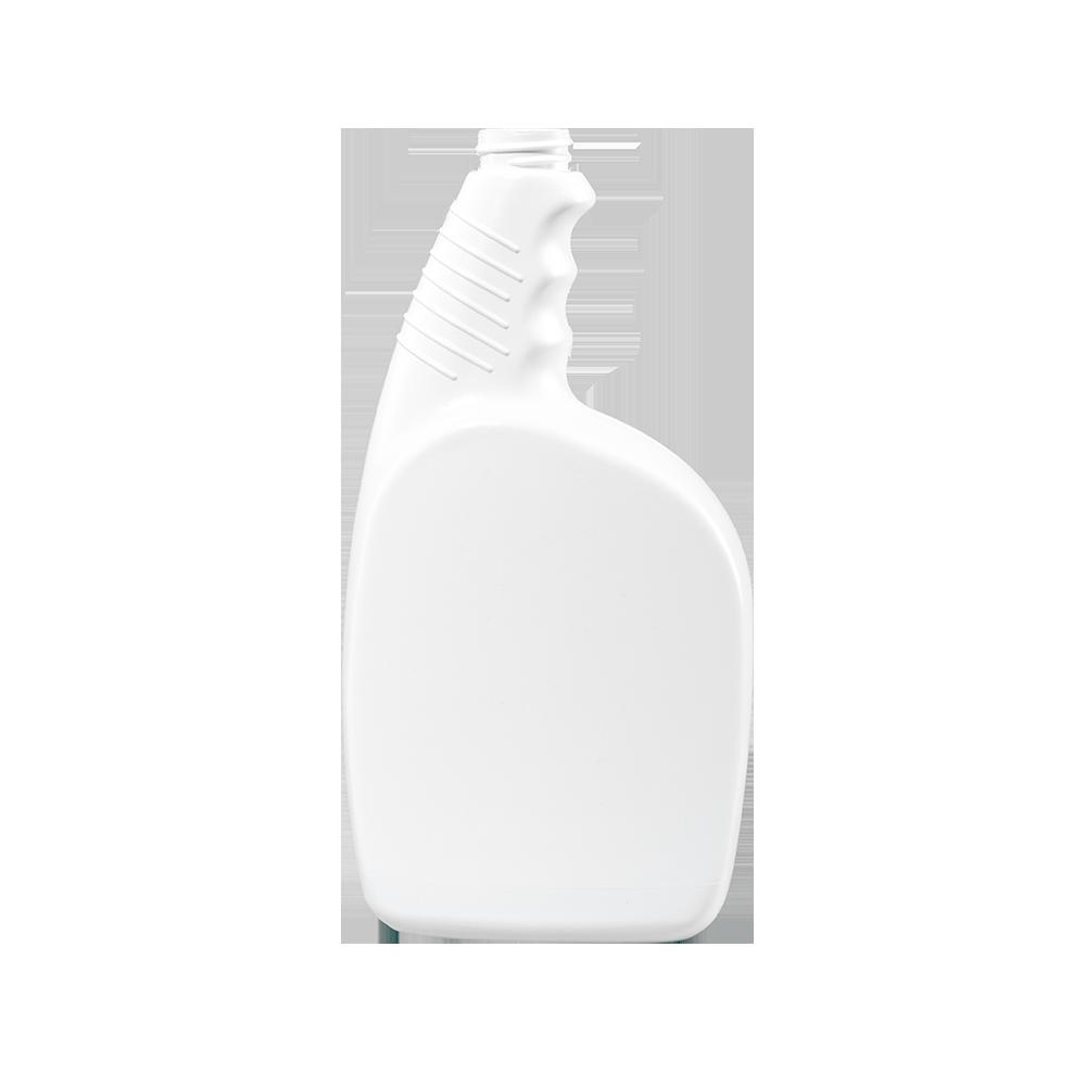 32 oz. White HDPE Plastic Pistol Grip Trigger Sprayer Bottle, 28-400