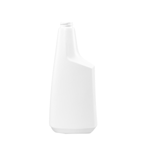 24 oz. White HDPE Plastic Oblong Sprayer Bottle, 28-400