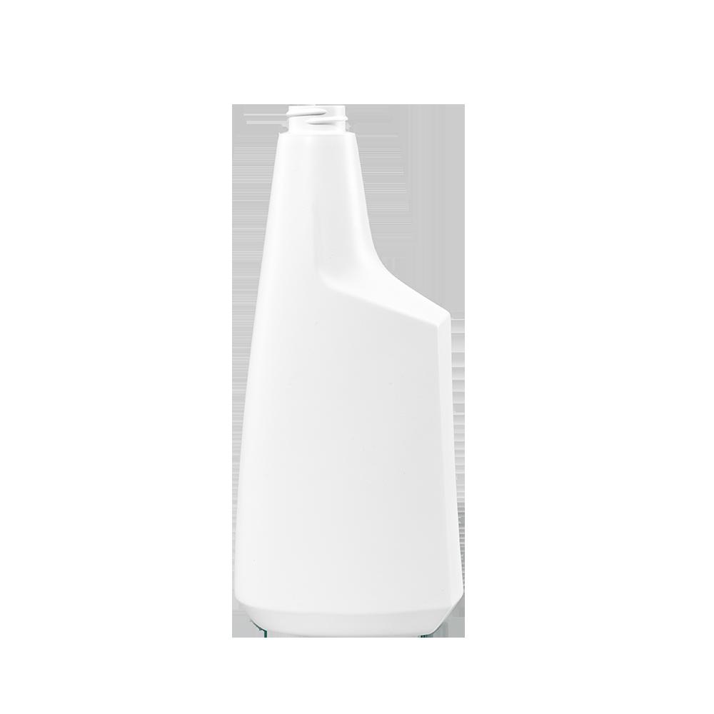 24 oz. White HDPE Plastic Oblong Sprayer Bottle, 28-400