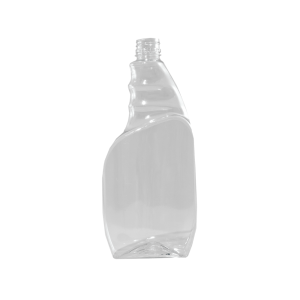 24 oz. Clear PET Plastic Pistol Grip Trigger Sprayer Bottle, 28-400 Ratchet