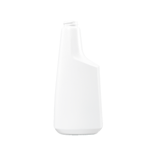 16 oz. White HDPE Plastic Oblong Sprayer Bottle, 28-400
