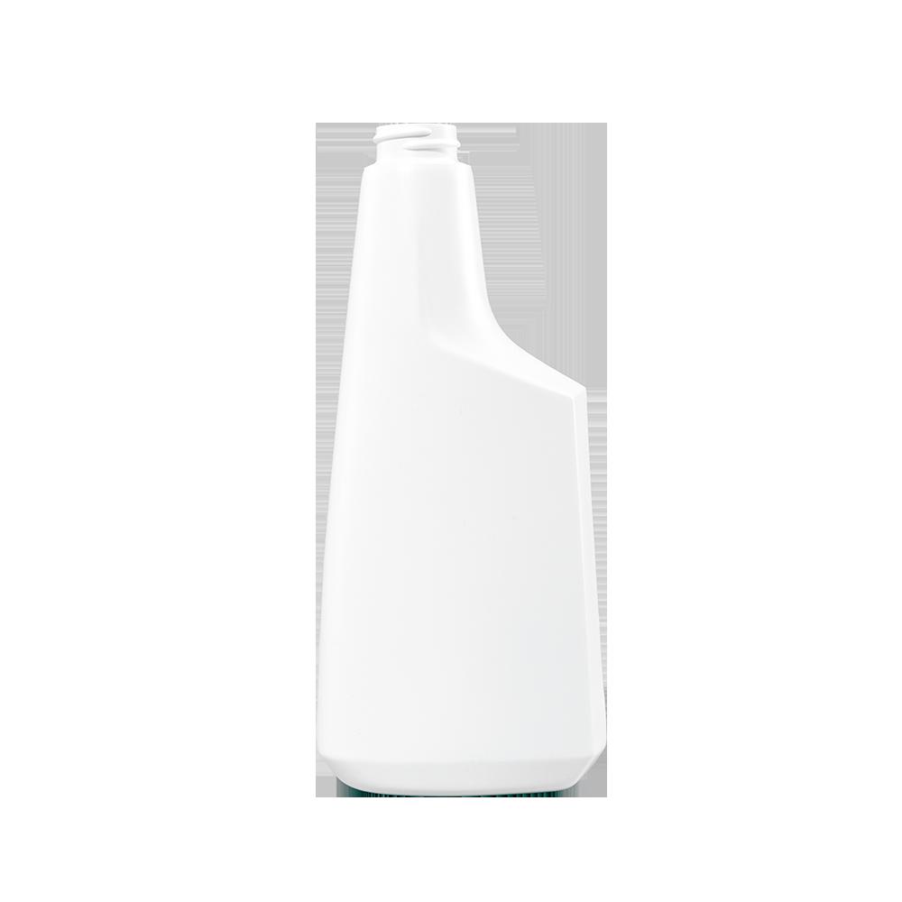 16 oz. White HDPE Plastic Oblong Sprayer Bottle, 28-400