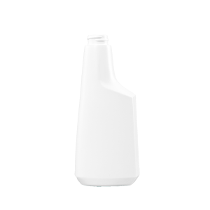 12 oz. White HDPE Plastic Oblong Sprayer Bottle, 28-400