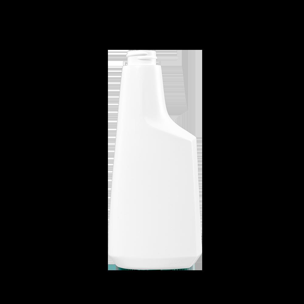 12 oz. White HDPE Plastic Oblong Sprayer Bottle, 28-400