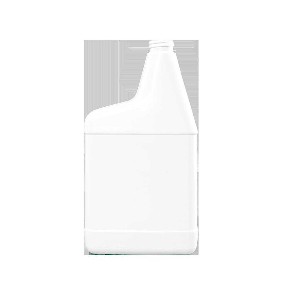 32 oz. White HDPE Plastic RTU Sprayer Bottle, 28-400