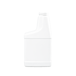 12 oz. White HDPE Plastic RTU Sprayer Bottle, 28-400